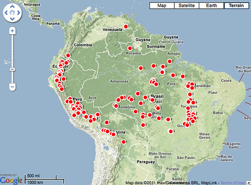 Dams in Amazonia