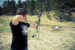 Archery (tomebug) Tags: family vacation usa compound colorado shoot bow co target arrow archery range peyton
