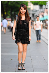Street Portrait #132 (B.Image357) Tags: faces streetportraits streetphotography singapore cinematicmoments orchardroad peopleinthecity lifestyle candidandstreet nikon d90 sigma85mmf14exdghsm strangers bokeh asian girl woman female lady beauty beautiful pretty fashion style sexy cute sweet elegant face portrait