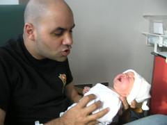 Proud Papa & Daughter!