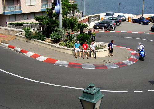 monaco f1 2009. monaco f1 track