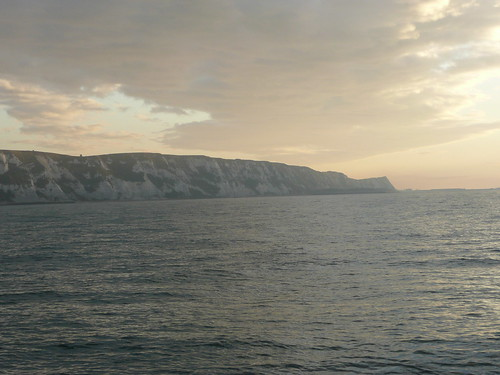 The White Cliffs at Sunrise