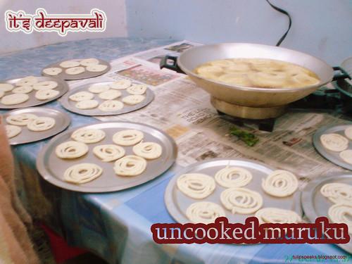 uncooked muruku