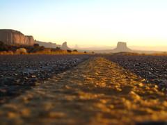 (del burka vista) Tags: road sunset southwest yellow utah roadtrip explore monumentvalley milemarker13