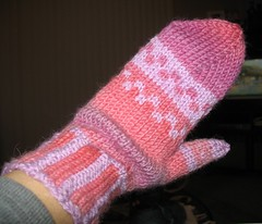 one finished Bus Stop Mitten