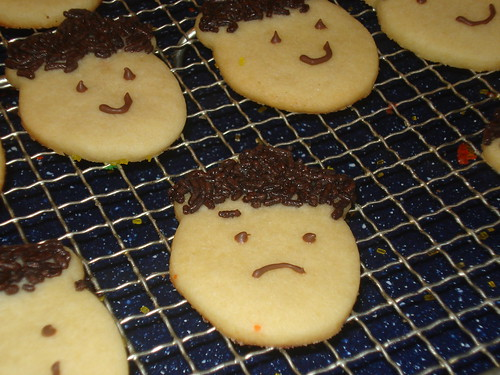 Sad acorn cookie