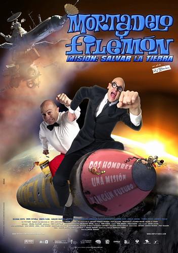 Póster y trailer de 'Mortadelo y Filemón. Misión: Salvar la tierra'
