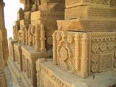 DSCN1610 (Mehr Adnan) Tags: pakistan tourism stone design interesting sindh tombs carvings intricate chaukhandi
