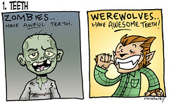 Werewolf vs Zombie : 1. Teeth