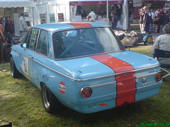 "BMW 2002 ti ""Gulf design"" @ Stadtparkrevival 2007 (jens.lilienthal) Tags: auto 2002 cars car sport racetrack race racecar germany gulf rally hamburg engine voiture 02 german bmw vehicle oldtimer autos ti classiccars rallye stadtpark motorsport voitures 2007 stadtparkrennen youngtimer stadtparkrevival gulfdesign"