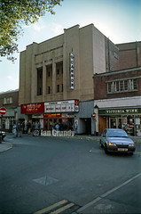 87 Lincoln Cannon 23 (stagedoor) Tags: uk england copyright cinema building architecture teatro kino theater theatre olympus cine lincolnshire scanned lincoln cannon abc bingo savoy saltergate