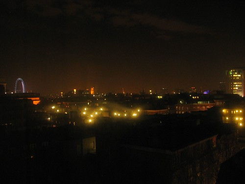 London - A view from my hotel room by night 4