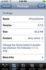 iPhoneHome Update 0.7.2