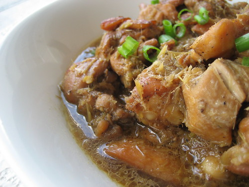 Braised Lemongrass Chicken (Ga Kho Xa Ot)
