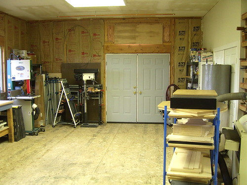 Photo studio corner.