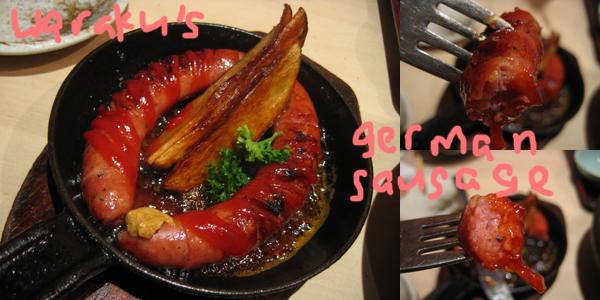 waraku's german sausage