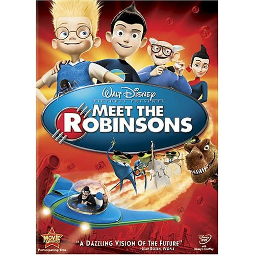 Meet the Robinsons (2007) DVD cover