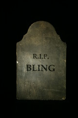 RIP bling headstone 099