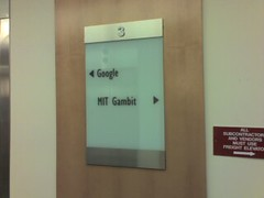 Look Who's Moving in Next Door (alist) Tags: sign office google mit alist gambit robison cmsmit alicerobison ajrobison