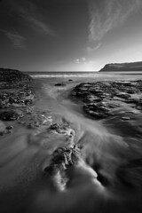 "Escapism (jasontheaker) Tags: ocean winter sea white black rock sand waves hole yorkshire north pools moors swell boggle ravenscar fylingthorpe landscapephotography ""canon350d"" ""robinhoodsbay"" ""jasontheaker"" ""sigma1020"" filinthourp"