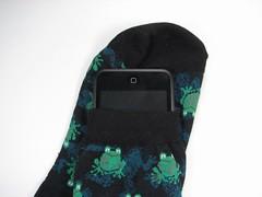 Non-standard iPod sock