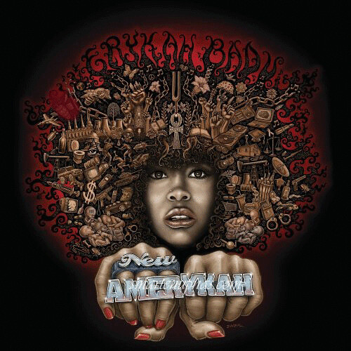 Erykah Badu New AmErykah, Pt. One: 4th World War album cover