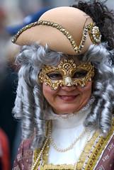 Maschera Carnevale di Venezia 2008 (PJ Franz) Tags: carnival venice party italy colour sexy beauty smile photography amazing nikon italia mask venetian d200 2008 carnevale venezia francesco maschera treviso fotografo smarco pillan 70200vrf28 espressionidellanima pjfranz