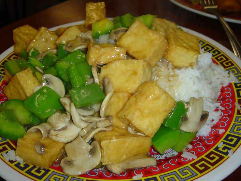 Tofu Vegetarian with Rice