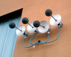 wall balls satelites telecomunication