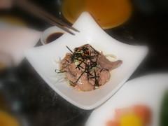 鱈魚肝佐橙醋蘿蔔泥 Cod Liver Vinaigrette