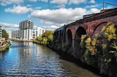 Old Shipping Canal (tj.blackwell) Tags: manchester canal shipping salford wodenstreet