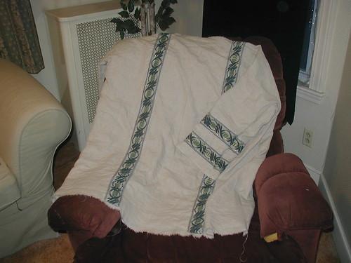 Linen riding tunic (Roman)