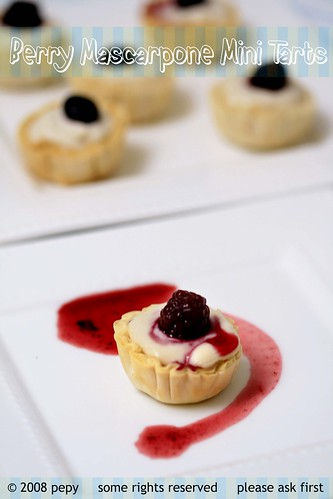 Berry Mascarpone Mini Tarts 6