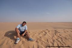 Desert Landscap (SanforaQ8) Tags: blue sky desert mohammed finepix kuwait kw q8 abdeen s5pro sanfora