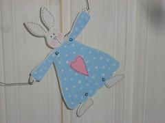 Blue Tilda Bunny