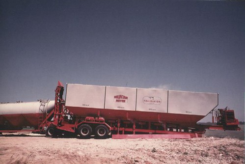 Loading a Sand Bin - Moutain Mover