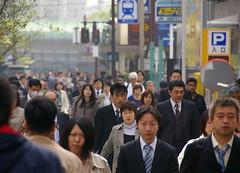 Cap a treballar / Going to work (SBA73) Tags: street city people japan japanese tokyo calle honeymoon gente crowd going ciudad stadt nippon  multitud shiba gent soe carrer nihon jap ciutat tokio japn marxa molts mywinners japonesos anawesomeshot viatgedenoces