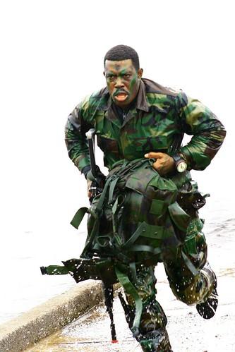Policial Camuflado COMAF (Comando de Operações em Mananciais e ...