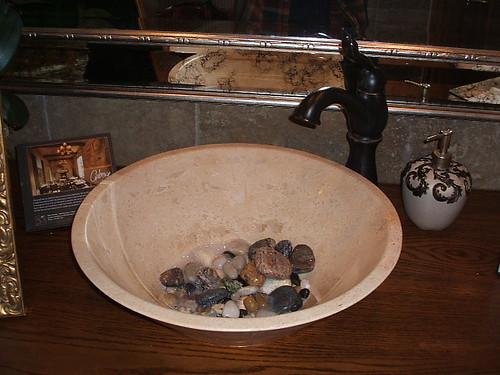 PIP WDYT Rocks In Bathroom Sink Thenest - Rocks in bathroom sink