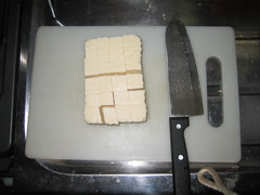 Cut up your Tofu
