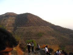Going up to Sinhagad Fort