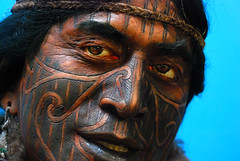 Maori Warrior (geoftheref) Tags: new our newzealand christchurch portrait cloud white nova tattoo museum la interestingness interesting long flickr space zeeland canterbury tribal tattoos pa zealand nz land warrior maori tribe kiwi tatoo aotearoa nueva nouvelle zelanda neuseeland zelandia nuova tatuaje akaroa nieuw tahu zelndia  iwi zlande ngai canterburynz  ourspace geoftheref onawe   ourspacenz