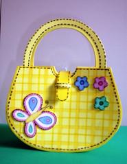 bolsinha borboleta (Maria Joaninha by Cidinha) Tags: hello flores kitty borboletas moranguinho fomy