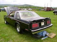 1982 Dodge Mirada CMX (splattergraphics) Tags: 1982 dodge mopar mirada jbody ttop boonsboromd masondixondragway miradacmx midatlanticmoparmeet marylandmopars