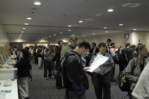 Long Line to General Session, JavaOne 2008