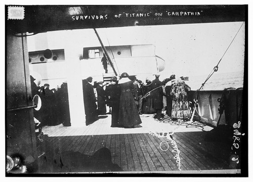 Survivors of TITANIC on CARPATHIA (LOC)