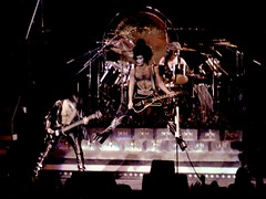 KISS 1977 @ MSG NYC - 14 (Whiskeygonebad) Tags: show music rock metal drums concert kiss bass guitar stage group sound 70s 1978 rocknroll 1970s 1977 heavy msg madisonsquaregarden lead members paulstanley concerthall stagelights bandmembers kissband