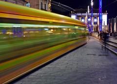 Tram Place de la Comédie Montpellier (Marc ALMECIJA) Tags: tram pose long longue exposure exposition montpellier hérault filé city ville town urban urbain architecture
