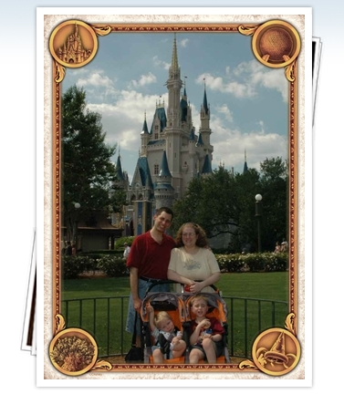 First minutes at Magic Kingdom