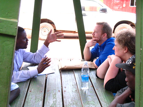 Journalist for The Monitor Uganda interviews the Director of ...